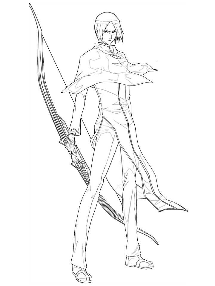 ishida and his bow