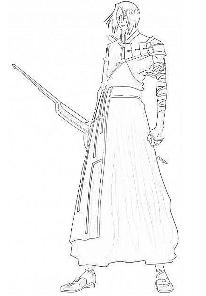 ishida holding weapon