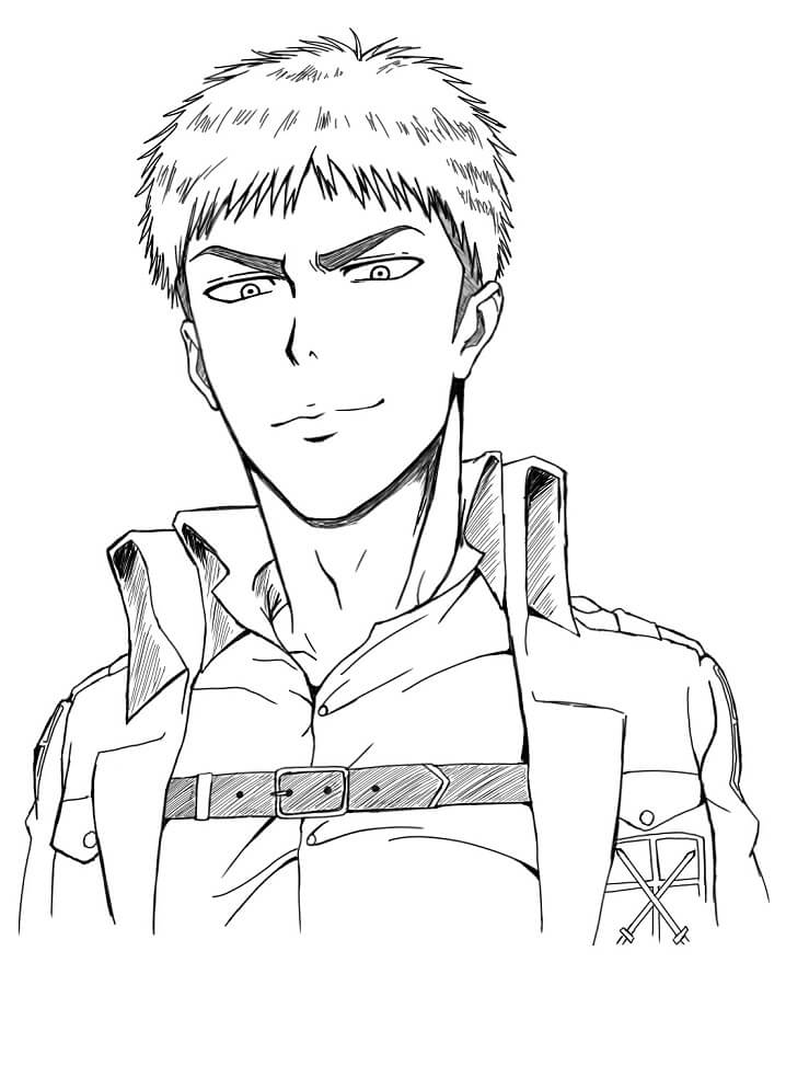 jean is smiling