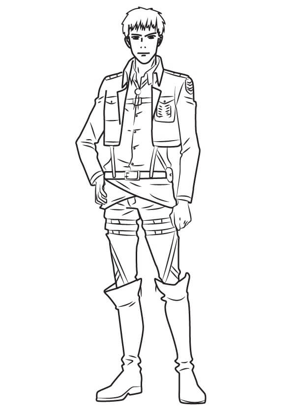 Printable Jean Kirschtein Coloring Pages