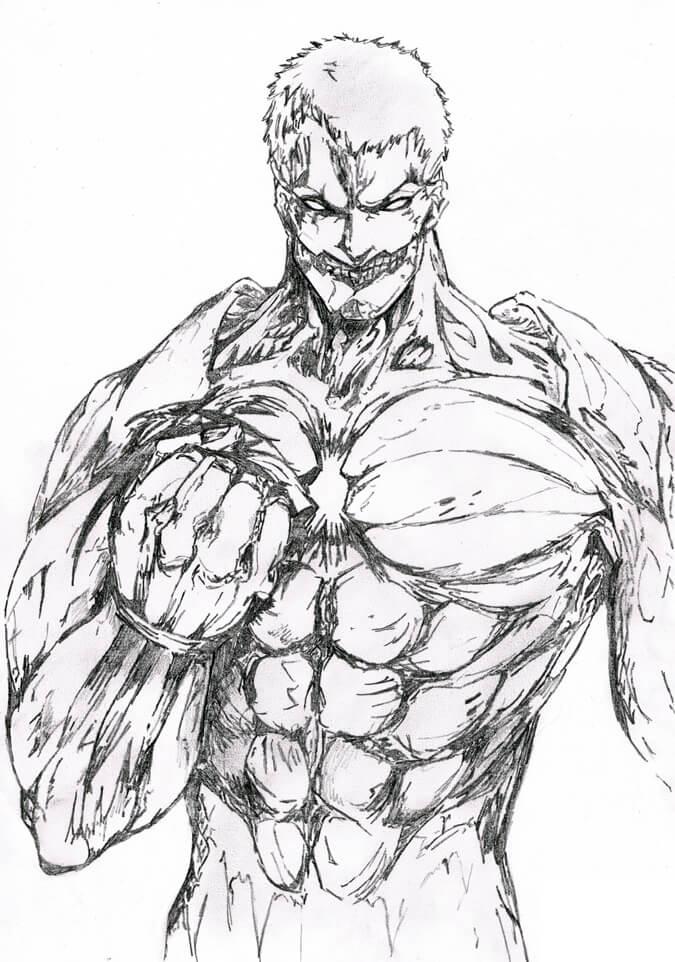 strong armored titan