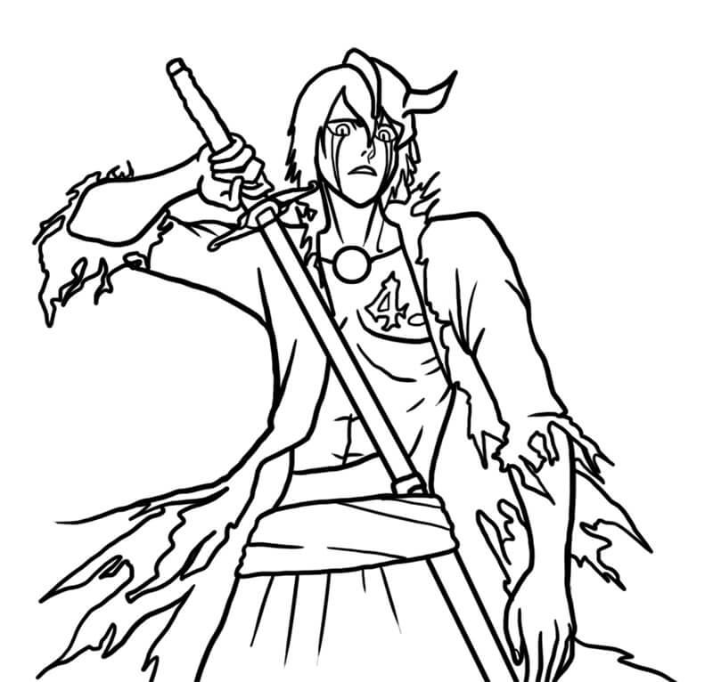 ulquiorra with sword