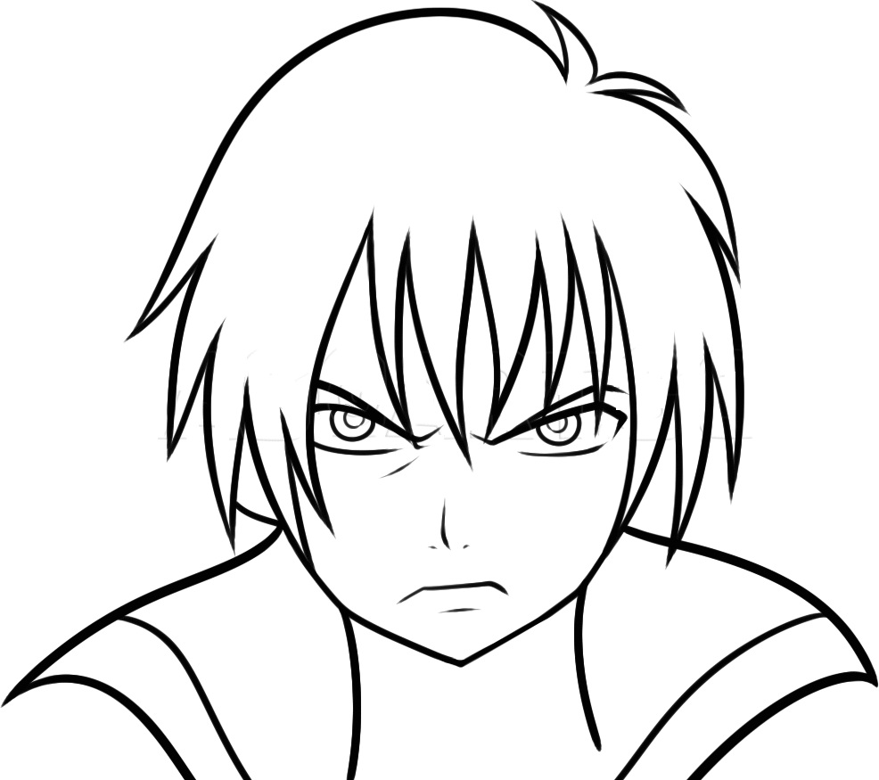 zeref is angry