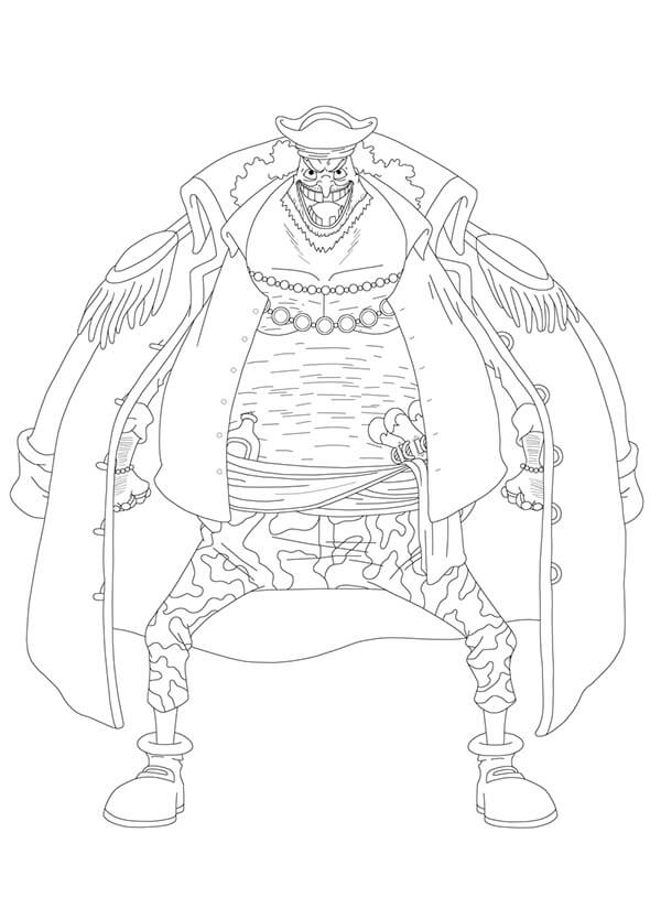 Printable Marshall D. Teach Coloring Pages