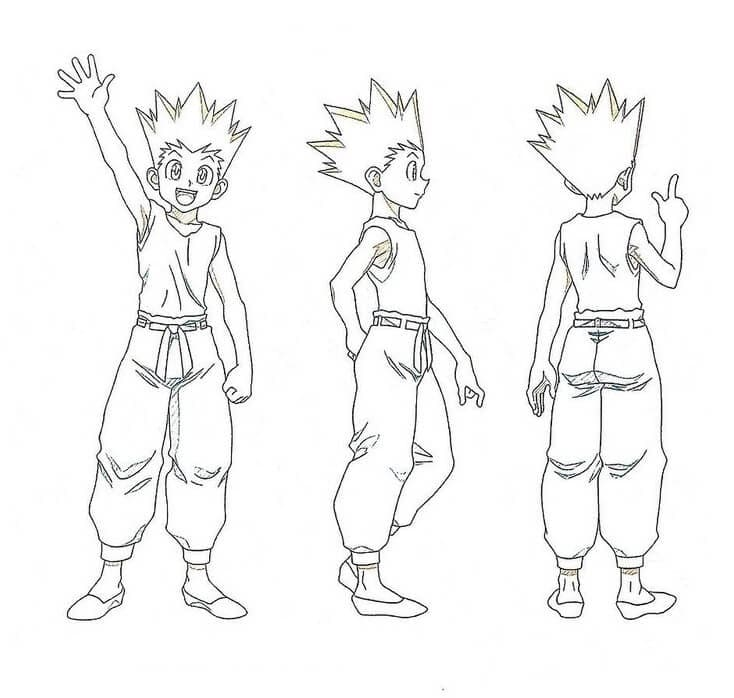 gon is trainning