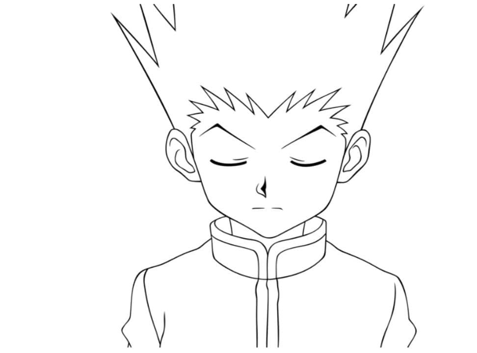 gon trying to focus