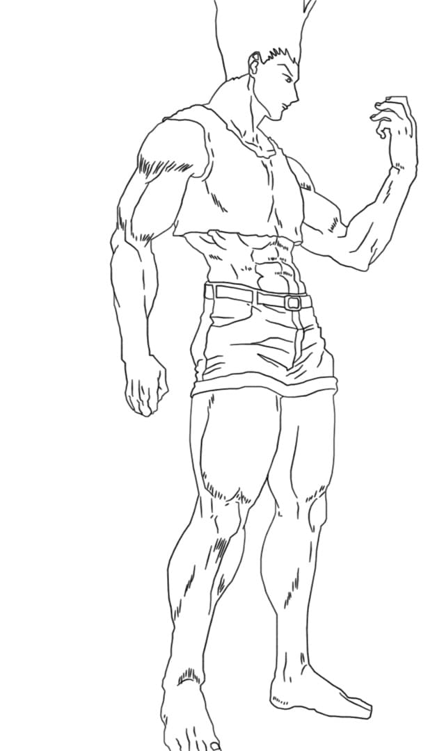 gon's adult form