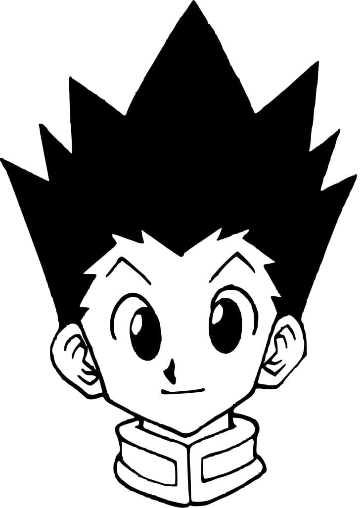 gon's face