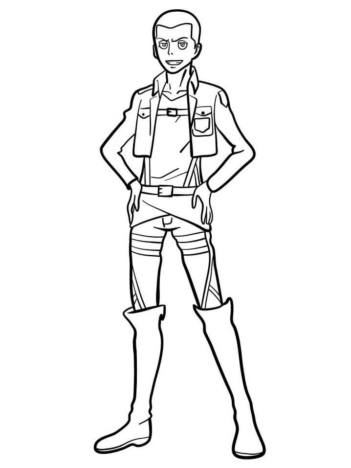 Printable Connie Springer Coloring Pages