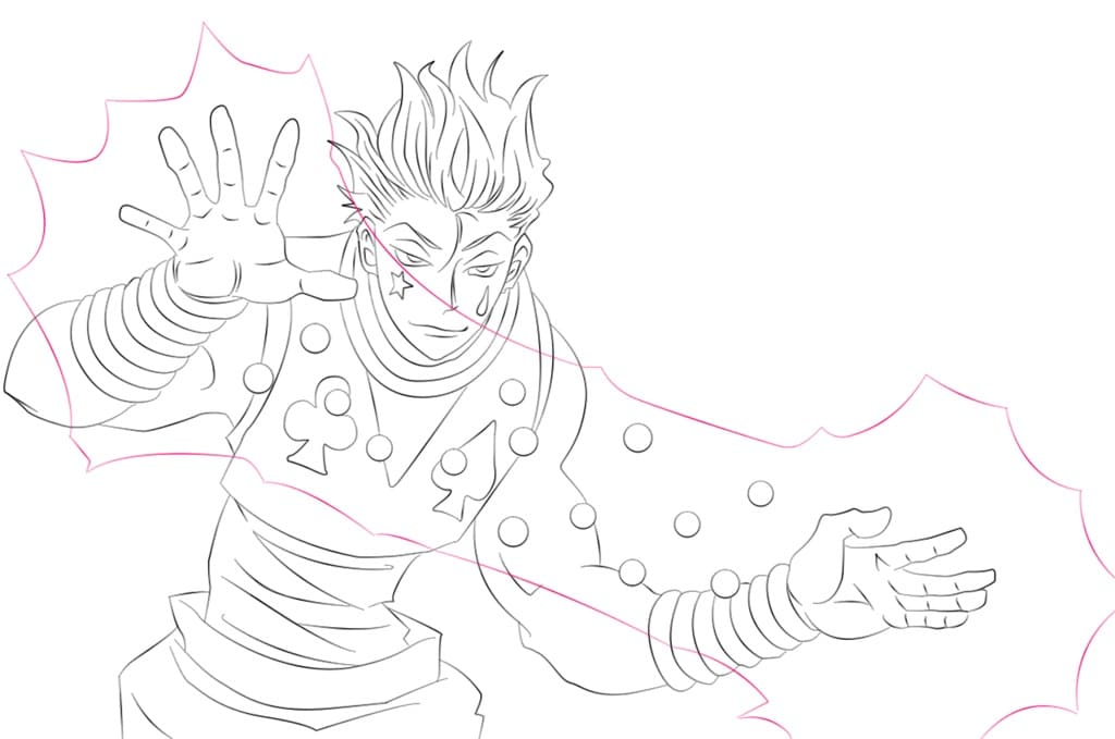 hisoka and his skill