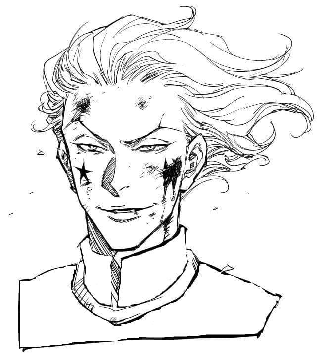 hisoka is hurt