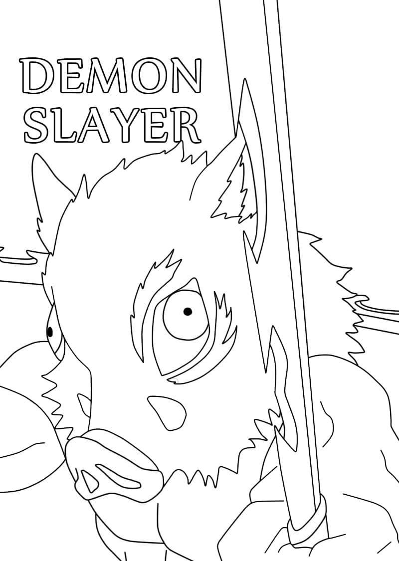 inosuke from demon slayer