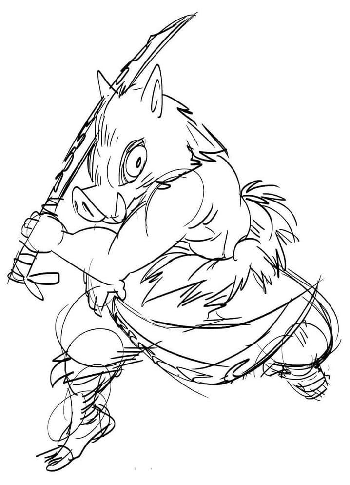 inosuke sketch