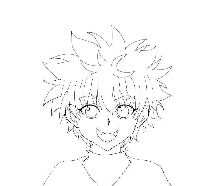 killua's smile