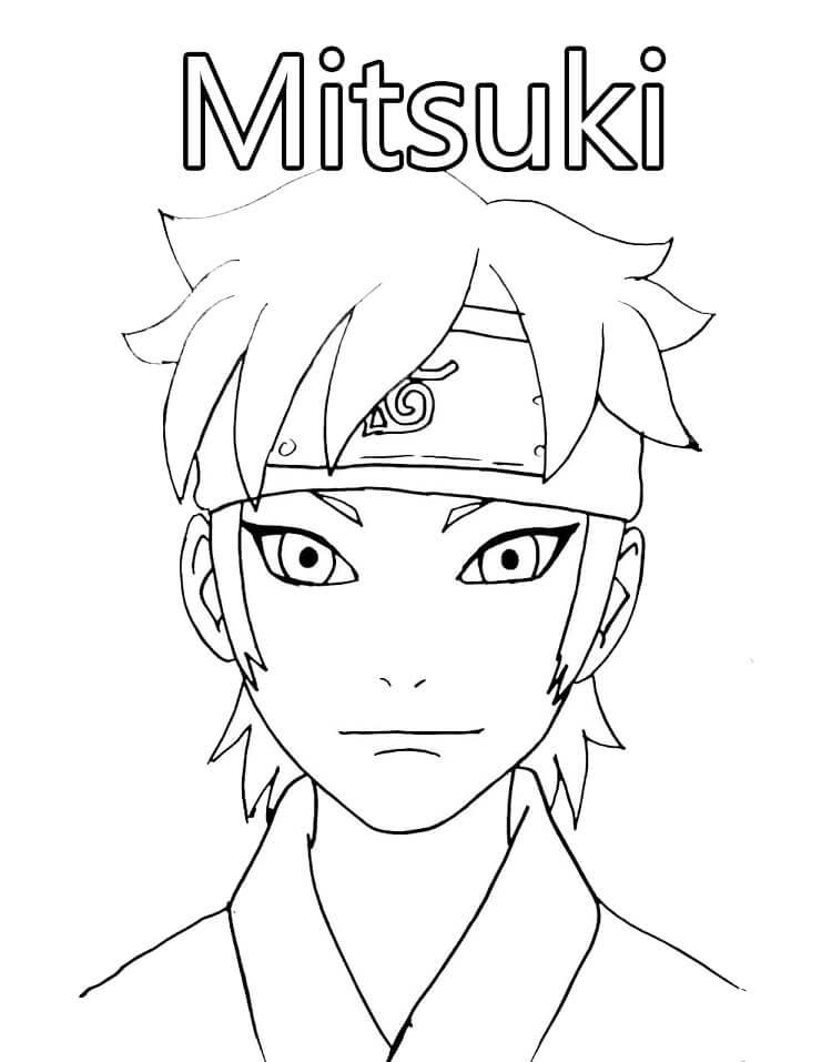 Printable Mitsuki Coloring Pages