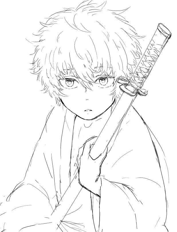 young gintoki