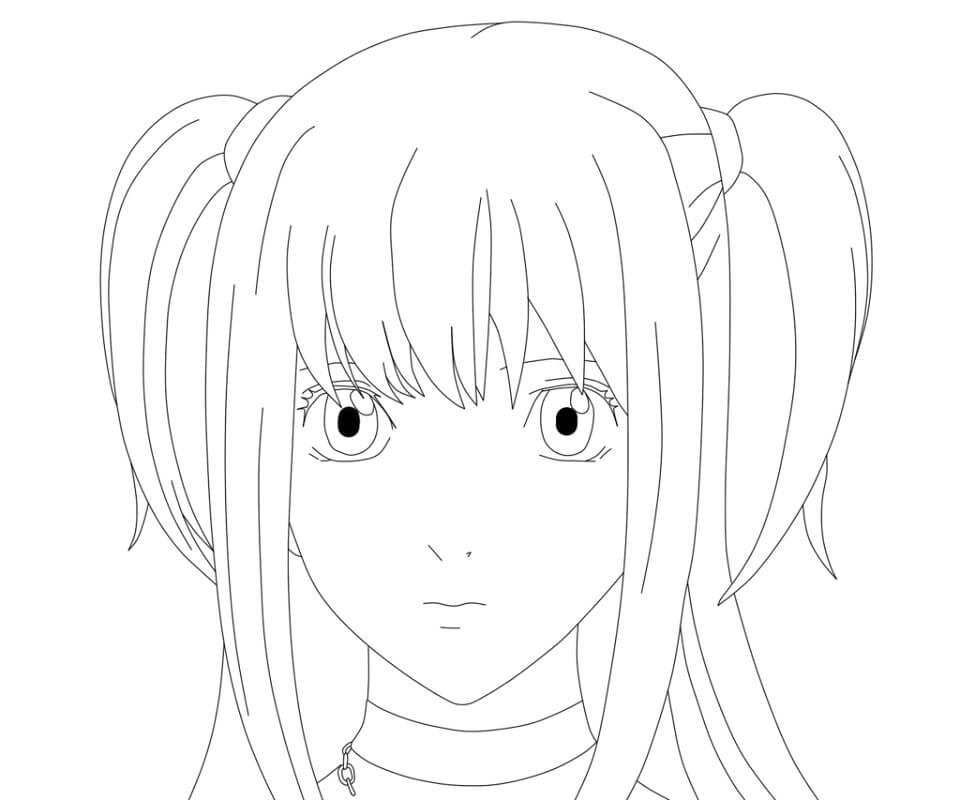 amane misa's face