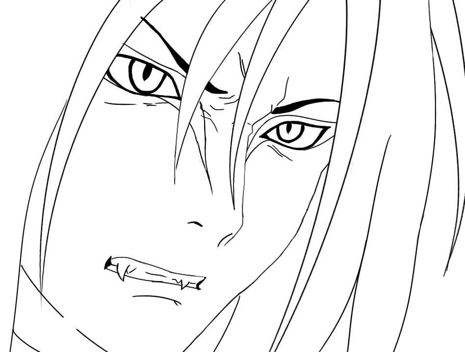 angry orochimaru