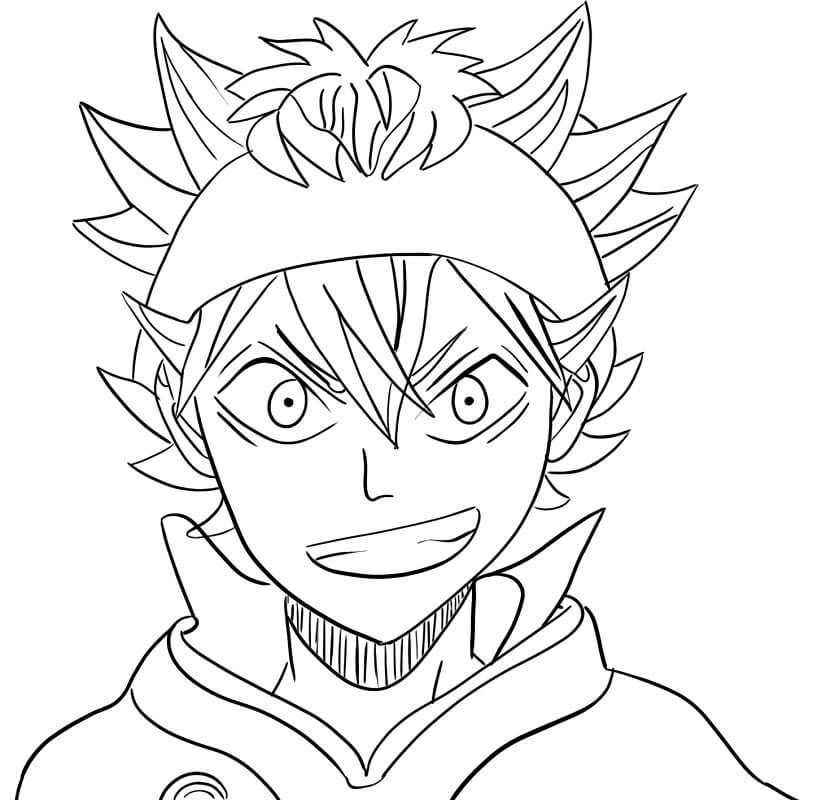 Printable Asta Coloring Pages