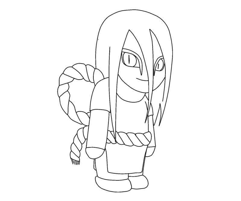 cute orochimaru