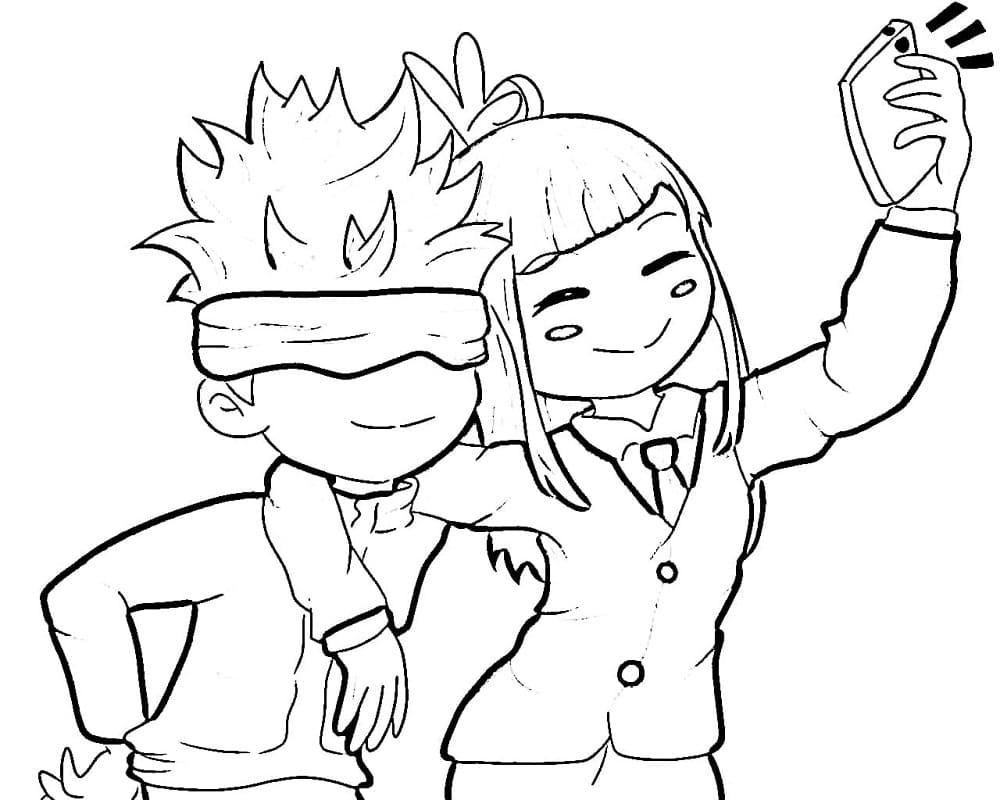 gojo satoru and miwa