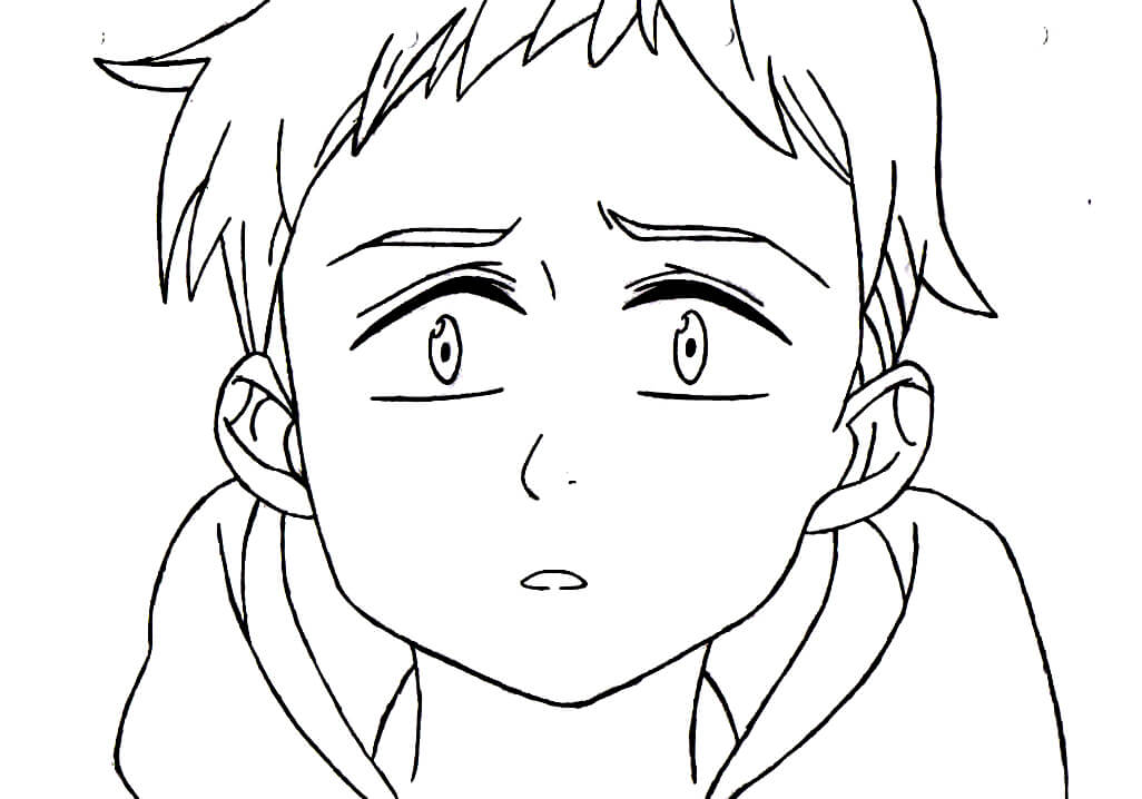 king is sad