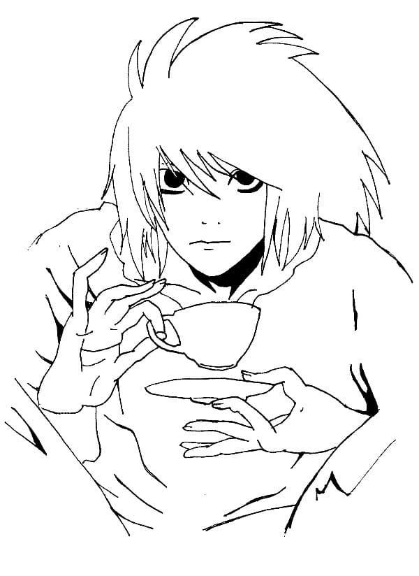 l drink tea
