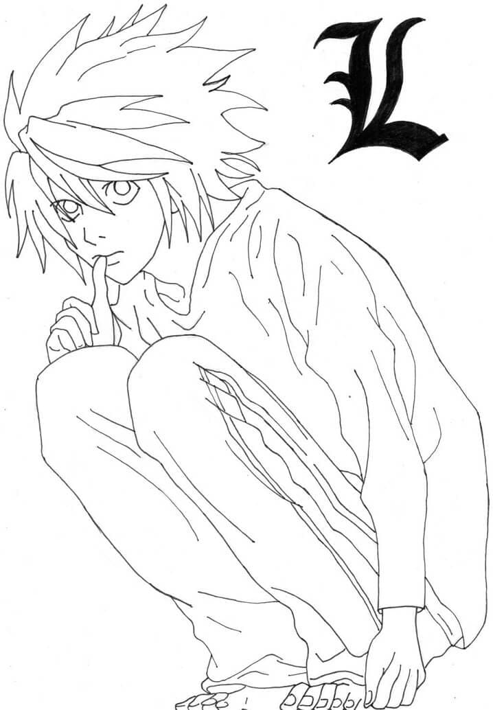 l from death note
