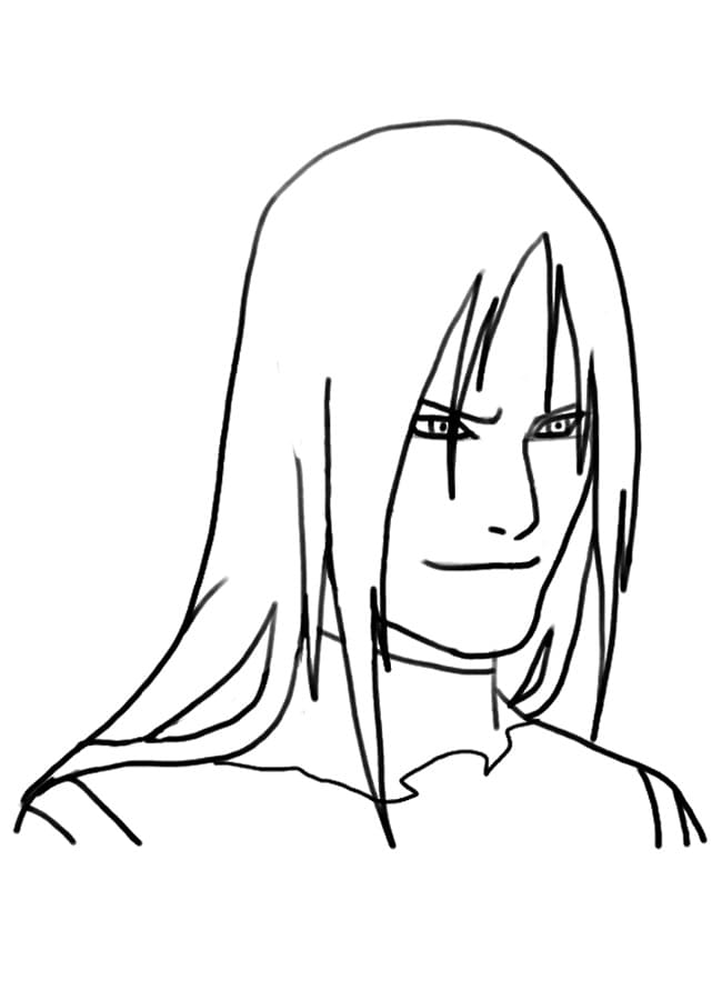 orochimaru's face