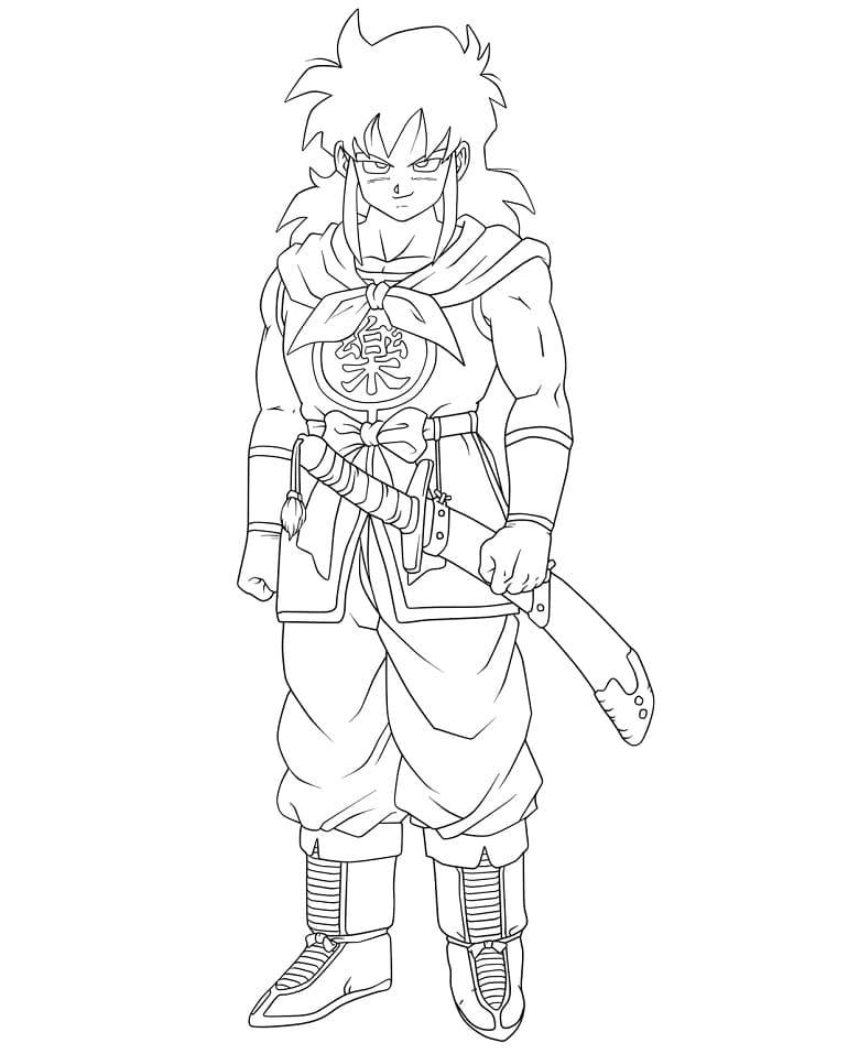 yamcha with sword