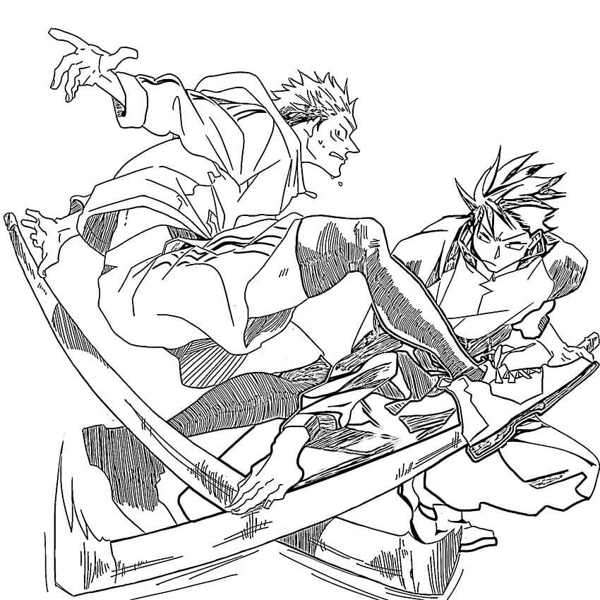 yuji itadori and megumi