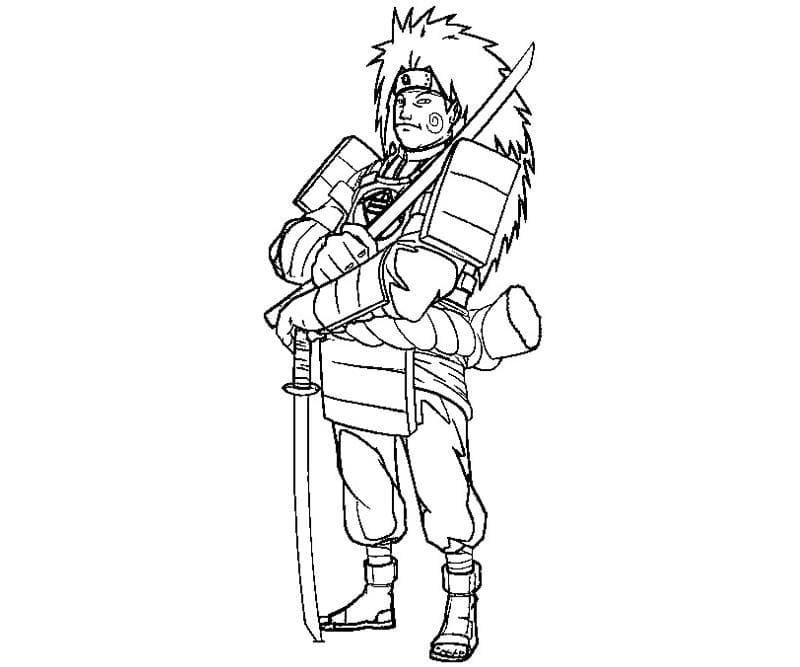 choji with swords