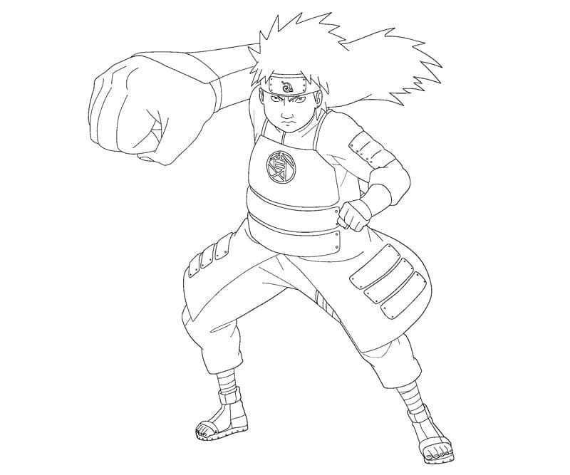 choji's big punch