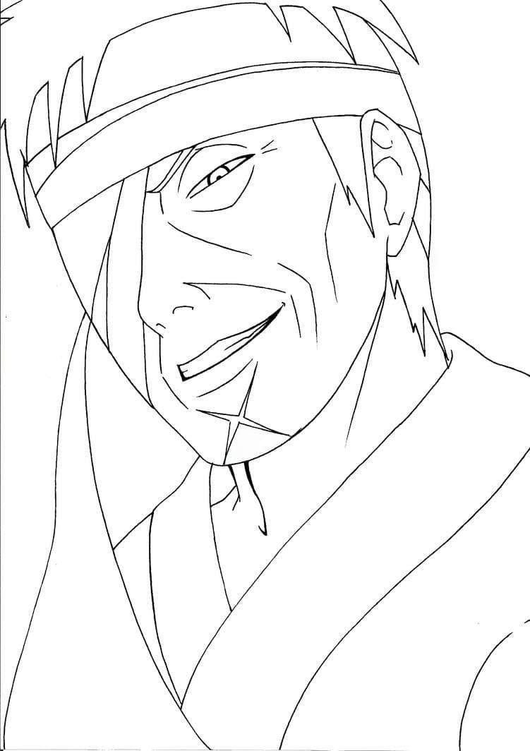 evil shimura danzo smiling