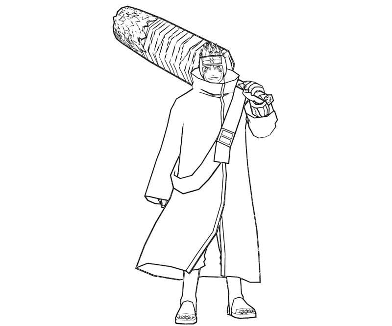 kisame with his sword
