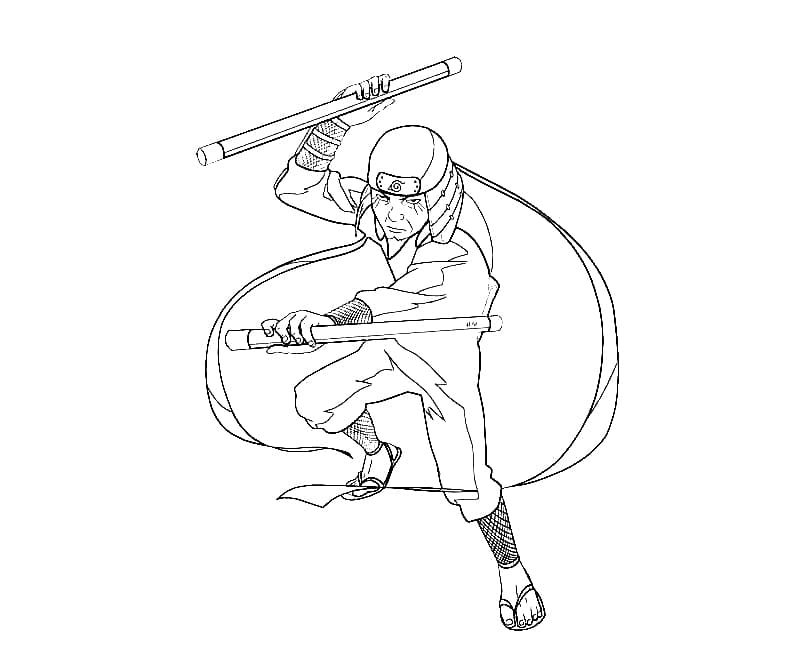sarutobi hiruzen fighting