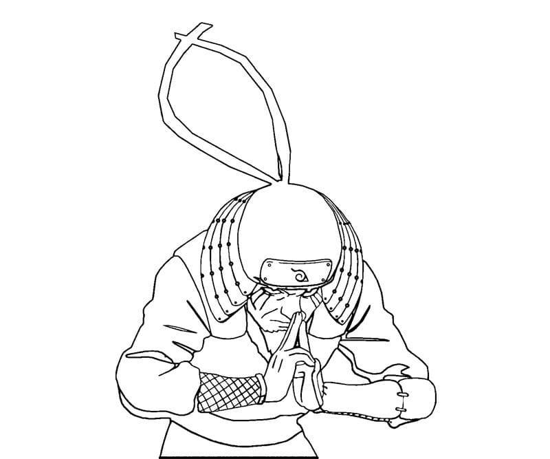 sarutobi hiruzen using ninjutsu