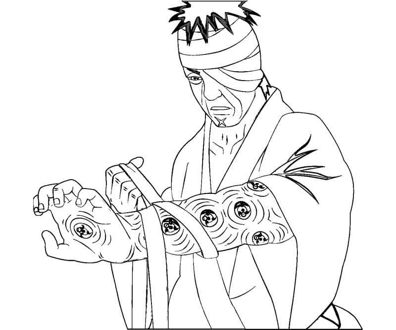 shimura danzo all sharingan