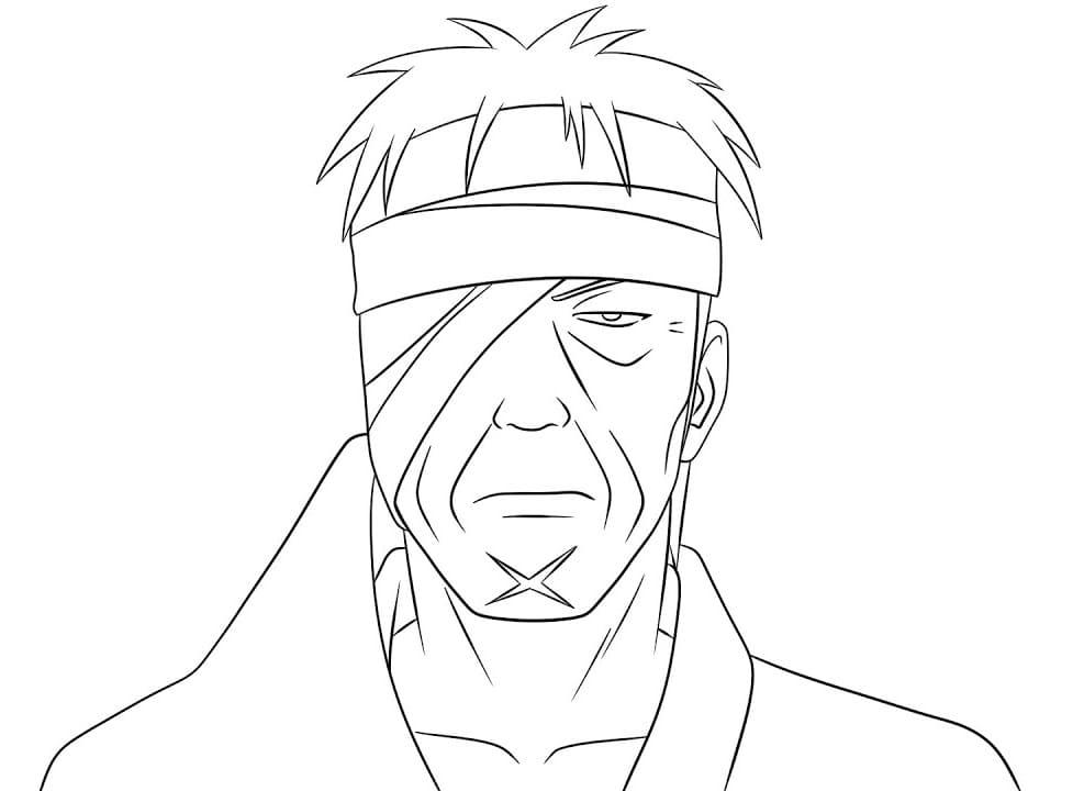 shimura danzo face