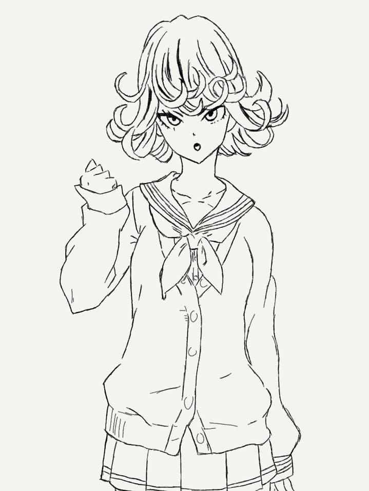 adorable tatsumaki