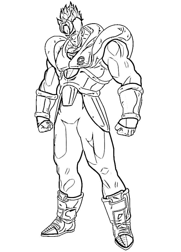 android 16 from dragon ball z