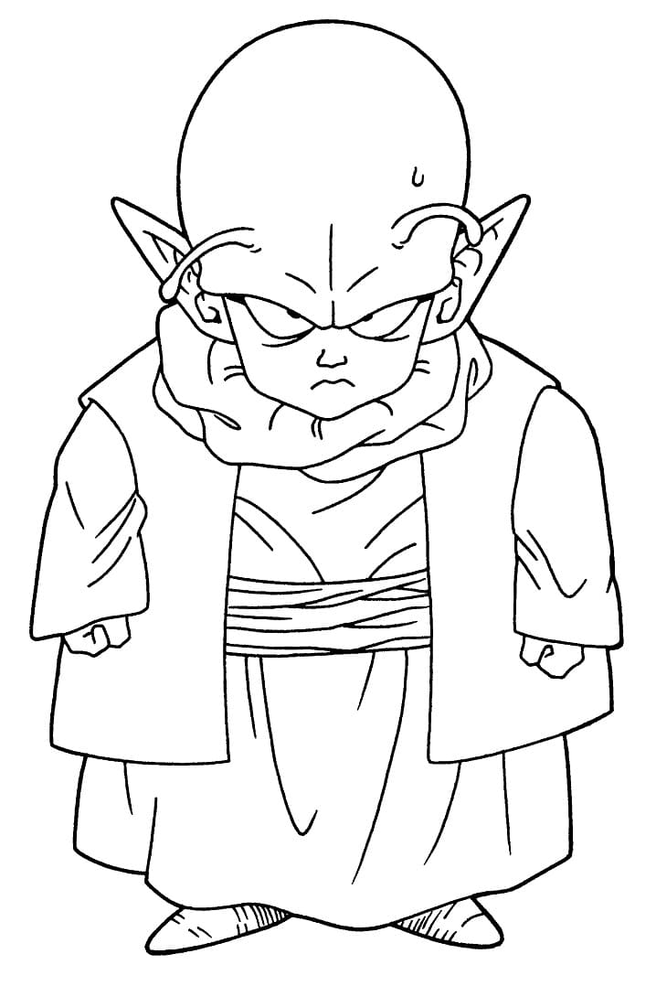 Printable Dende Coloring Pages