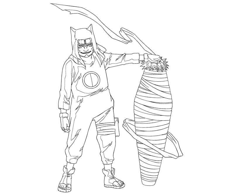 kankuro and his weapon