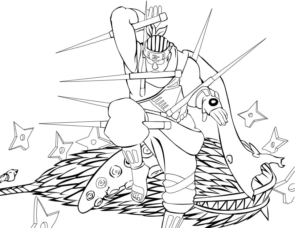 Printable Killer Bee Coloring Pages