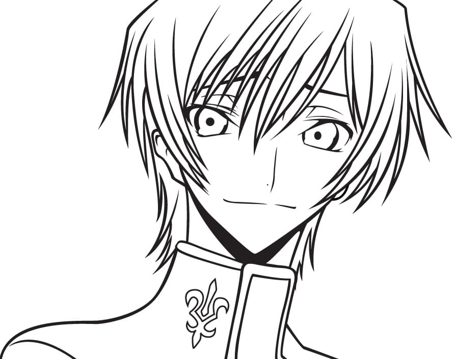 lelouch smiling