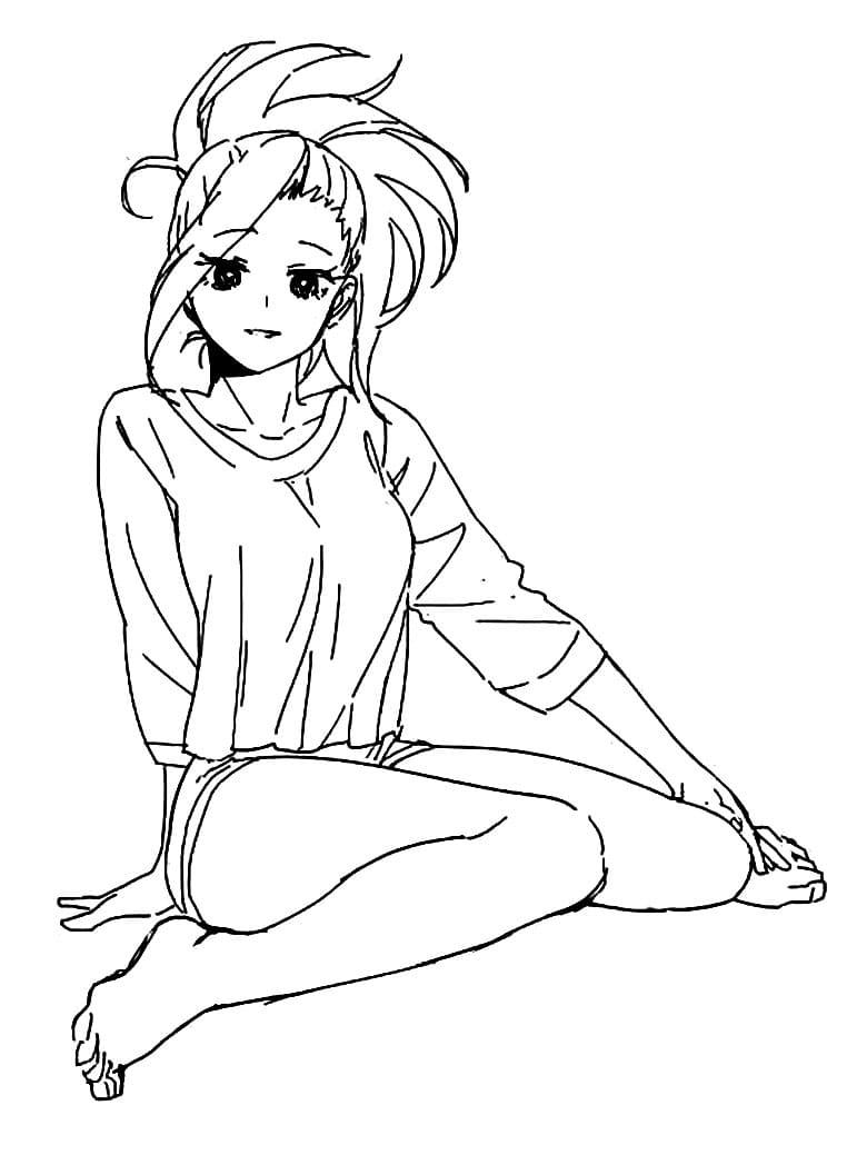 lovely momo yaoyorozu