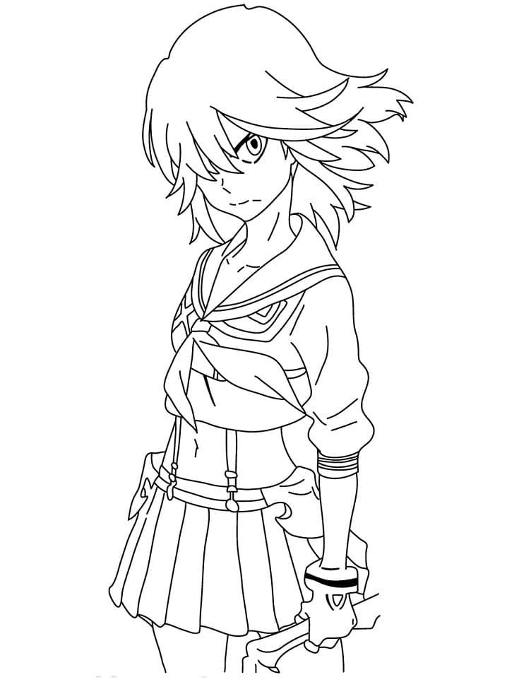 ryuko matoi is angry