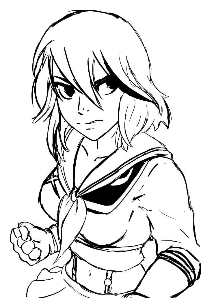ryuko matoi sketch