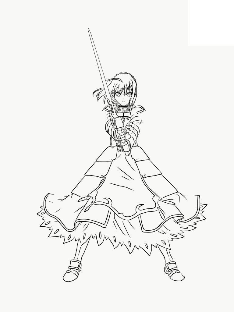 saber fighting