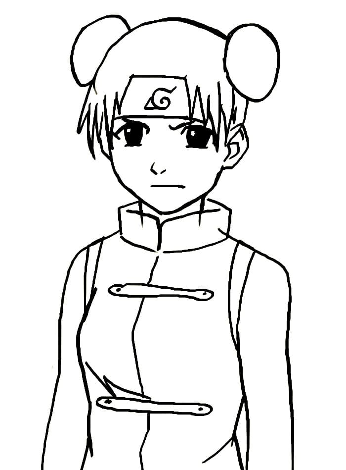 tenten is angry